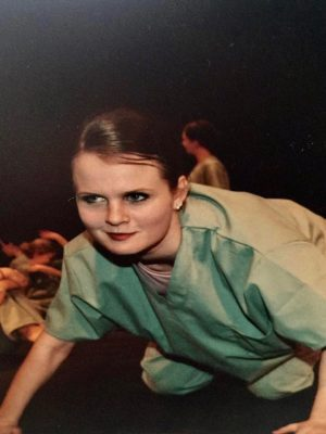 Chyna dancing back in the day at HDA.